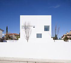 Alberto Campo Baeza, Casa Raumplan en Madrid  - Arquitectura Viva · Revistas de Arquitectura