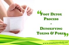 Get the #toxins #out with a #foot #detox #today!