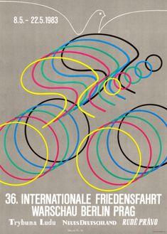 Internationale Radfernfahrt für den Frieden (the Peace Race), 1983 ~ Anonym