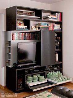 8 móveis multifuncionais para seu apartamento pequeno - Casa