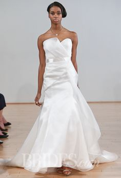 Brides: Junko Yoshioka Wedding Dresses   Spring 2015   Bridal Runway Shows   Brides.com | Wedding Dresses Style