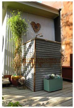 industrial outdoor bath.
