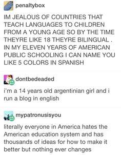 I' Finnish and I can speak English and Swedish