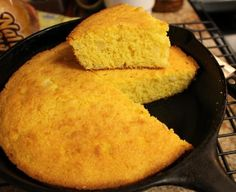 No-Flour Cornbread. I use coconut milk with a little lemon juice added when I make this.  Make sure your corn meal is gluten free as many brands are produced on the same lines as wheat flour or have flour added to them in the ingredients.