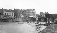 NANTES avant & en 39/45: Comblements (Pont-Morand) 1938