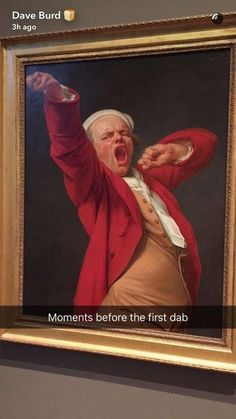 This perfectly captured moment: | 17 Old Ass Paintings That Are Actually Fucking Hilarious