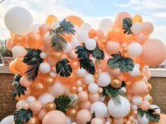 Bubblegum Balloons, Pastel Balloons, Metallic Balloons, Large Balloons, Custom Balloons, Gold Balloons, Ballons, Rainbow Balloon Arch, Balloon Wall