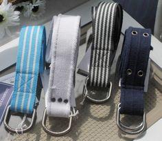 Island Company canvas belts.