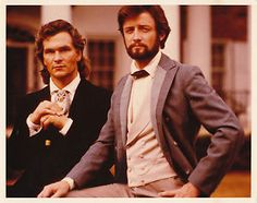 James Read and Patrick Swayze in North & South Book 2! Handsome fellows!