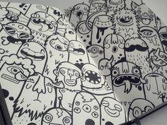 Dribbble - Monsters by Lienke Raben