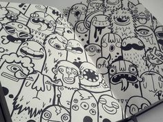 Monsters by Lienke Raben
