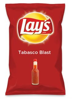 Wouldn't Tabasco Blast be yummy as a chip? Lay's Do Us A Flavor is back, and the search is on for the yummiest flavor idea. Create a flavor, choose a chip and you could win $1 million! https://www.dousaflavor.com See Rules.