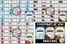 Bundle fractions! 3 jeux de casse-têtes pour le 2e cycle