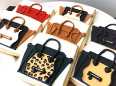 Celine Inspired Mini Luggage Tote Bag decorated by peapodscookies, $45.00    THIS IS AMAZING!!!