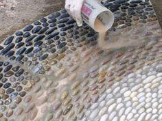 pebble mosaics designs - Google Search
