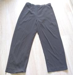 Talbots Petites size 16 dark gray lined dress pants grey | Clothing, Shoes & Accessories, Women's Clothing, Pants | eBay!