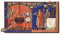nepoznata-skrivena-istorija : Srednjovekovna evropska kuhinja - Caboches in Pota...