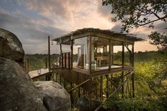 Kingston Treehouse, Sud Africa #hotel #travel #luxe
