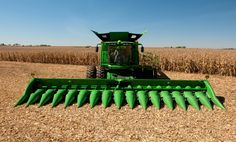 John Deere Combine | the new s series combines have more power capacity and larger header ...