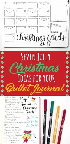 Creative Holidays: Bullet journal ideas for Christmas to make your holiday season more relaxing and enjoyable! Get organized using these holiday trackers and collections for a happy holiday! Find inspiration in these Christmas bujo countdown layouts, wishlist spreads, and so many other fun pages to try for your December monthly spread! #bujoholiday #bulletjournalchristmas