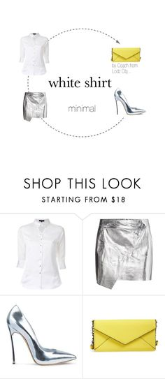 """minimal"" by mario1977lodz ❤ liked on Polyvore featuring Loveless, Posh Girl, Rebecca Minkoff and WardrobeStaples"
