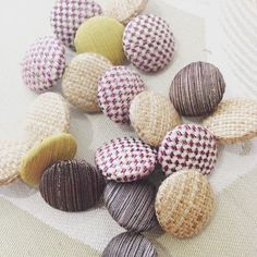 Buttons made to order #bespoke #upholstery #curtains #upcycle  #stripeinteriors
