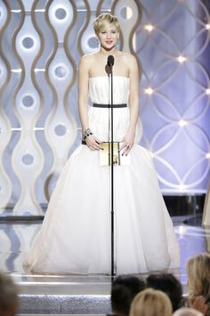 Jennifer Lawrence #GoldenGlobes2014