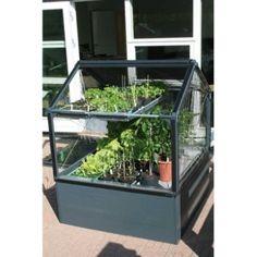 Potager de jardin surélevé avec serre 120x120x150cm, Autre