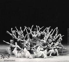 San Francisco Ballet in Lew Christensen's 'Nutcracker', 1962 (Photographer Henri McDowell; courtesy of SF Museum of Performance & Design)