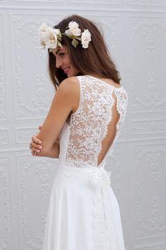 Marie Laporte robe de mariee 2015 - La Fiancee du Panda blog mariage Ella_3detail