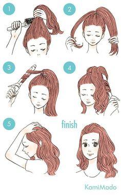 Come avere capelli mossi/ricci
