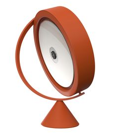 South Korean designer Jeong Yong has created a round CD-player that's mounted like a globe on a tilted axis.