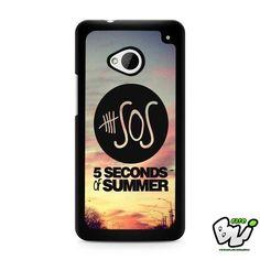 5 Second Of Summer HTC G21,HTC ONE X,HTC ONE S,HTC  M7, M8, M8 Mini, M9, M9 Plus,HTC Desire Case
