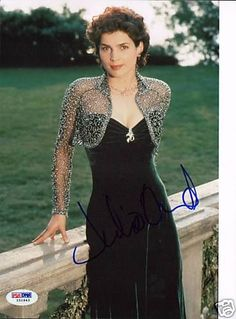 Julia Ormond Signed Auto Sabrina 8x10 Photo PSA DNA COA