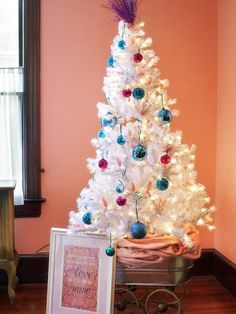 Bright & White in Artificial Christmas Trees Better Than the Real Thing from HGTV