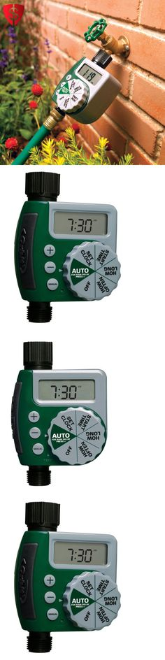 Watering Timers and Controllers 75672: Water Hose Timer Outlet Programmable Faucet Sprinkler Garden Outdoor Digital -> BUY IT NOW ONLY: $31.55 on eBay!