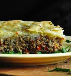Vegetarian Mushroom Shepherd's Pie (with Vegan Version)