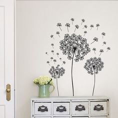 Dandelion Decal Kit from Dormify. Saved to New Apartment Stuff! Shop more products from Dormify on Wanelo.