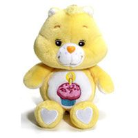 Birthday Carebear - I never went ANYWHERE without mine when I was a kid :)