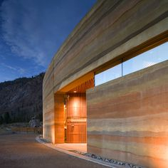 rammed earth is pretty awesome