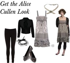 """Steal her Style: Alice Cullen"" by tkraal ❤ liked on Polyvore"