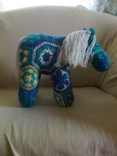 Egy régebben készült ősz ló - An older project