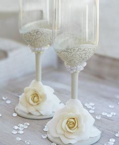 Taças personalizadas para casamento