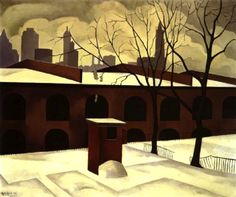precisionism art - Google Search George Copeland Ault