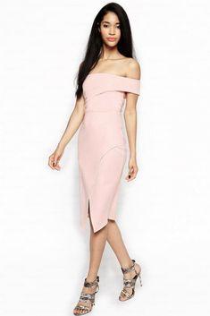 f21daae014 Go s Wrap Design Off the Shoulder Dress