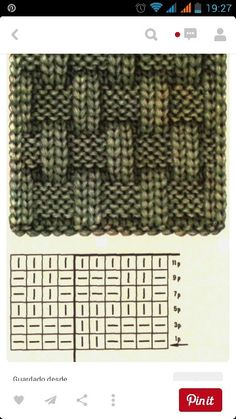 Strickmuster - You are in the right place about Knitting Pattern for kids Here we offer you the most beautiful pictures about the Knitting Pattern vest you are looking for. Baby Knitting Patterns, Knitting Stiches, Knitting Charts, Free Knitting, Crochet Stitches, Crochet Patterns, Beginner Knitting, Knitting Machine, Knitting Designs