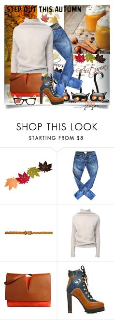 """""""The Final Week of October"""" by juliehooper ❤ liked on Polyvore featuring Current/Elliott, Rick Owens, Jil Sander, Dsquared2 and Ray-Ban"""