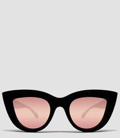 De Quay zonnebril biedt je 100% UV-bescherming en is ook nog eens een stijlvol model voor de zomer! (€44,95) #Kitti #Zonnebrillen #Quay #Australia