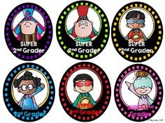 Superhero Brag & Name Tags {FREE}