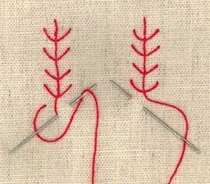 Kirjonta: Erilaisia pistoja   Punomo Needlework, Weaving, Arts And Crafts, Kids Rugs, Embroidery, Knitting, Handmade, Color, Stitches